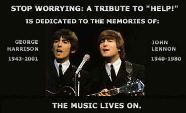 This site is dedicated to the memories of George Harrison and John Lennon.