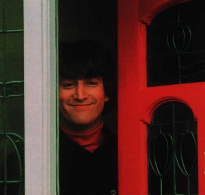 John at the door